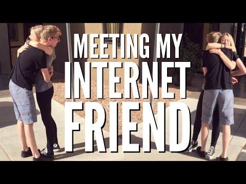 Meeting My Internet Friend!