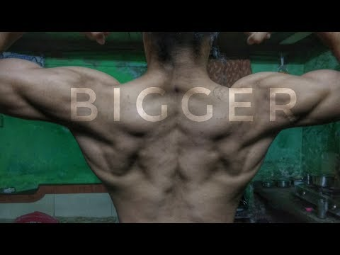 How To Get Bigger Back🦁(BODYWEIGHT ONLY) || Without Weights ||