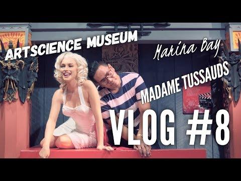 VLOG #8 | MARINA BAY | GARDEN BY THE BAY | ARTSCIENCE MUSEUM | MADAME TUSSAUDS [BAHASA]