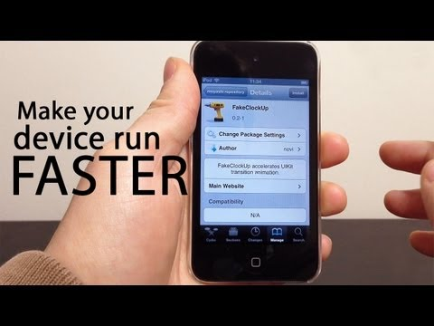 How To Speed Up Your iPhone With FakeClockup