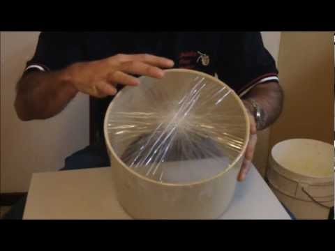 Homemade packing tape drum - Child's Play Music