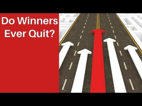 Do Winners Ever Quit?