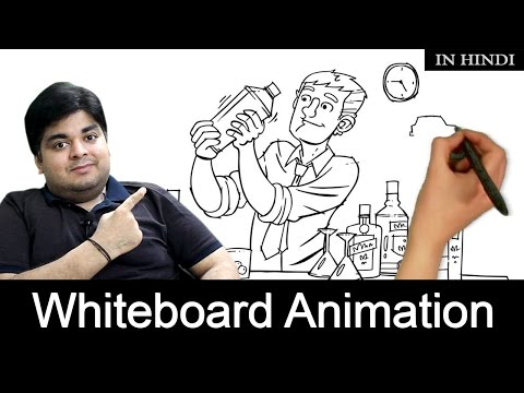How to Make Whiteboard Animation videos-Tutorial[Hindi]