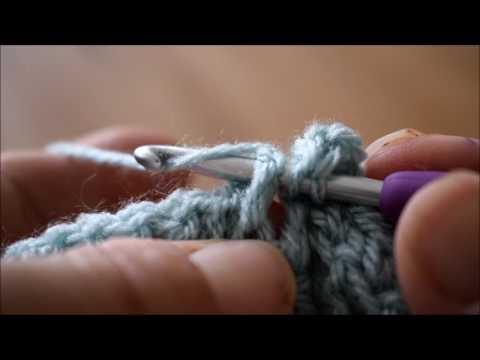How to crochet a Front Post Treble Crochet (uk)