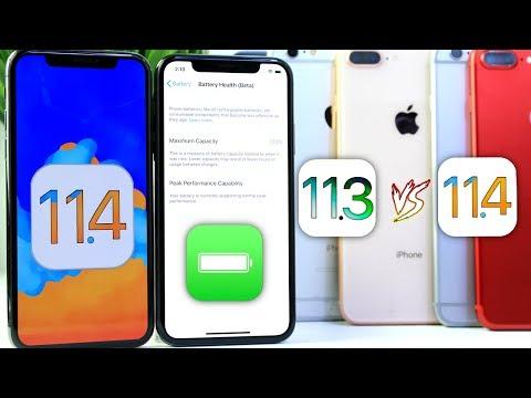 iOS 11.4 Vs iOS 11.3 Battery TEST | NOT GOOD