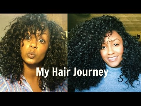 MY NATURAL HAIR JOURNEY   Long, Healthy, Shiny Curls   With Pictures