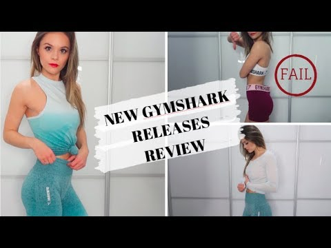 NEW GYMSHARK RELEASES HAUL & REVIEW // Pass & fail items