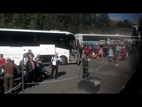 Train from Whittier to Anchorage and Talkeetna, Alaska