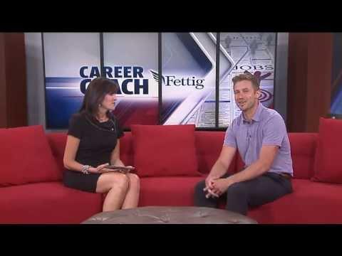 Career Coach Mike Fettig on Fox 17- Job Interview Prep