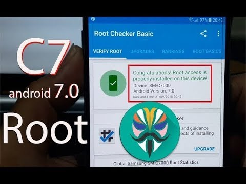 How to Root Samsung Galaxy C7 SM-C7000 (android 7.0)