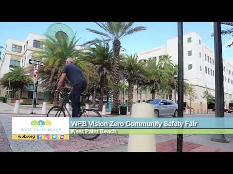 WPB Vision Zero Community Safety Fair Planned