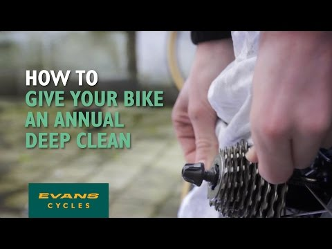 How To Clean A Bike - Giving Your Bicycle a Deep Clean