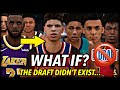 What If The NBA Draft DIDN39T EXIST