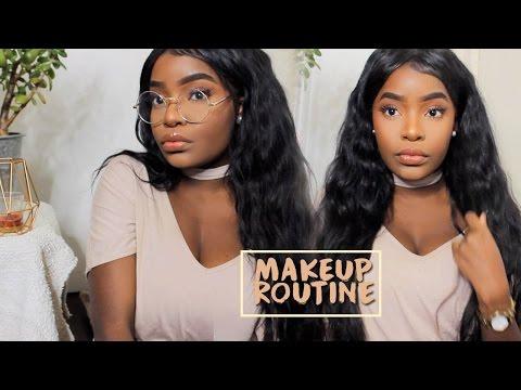 Everyday Makeup Routine - Dark Skin