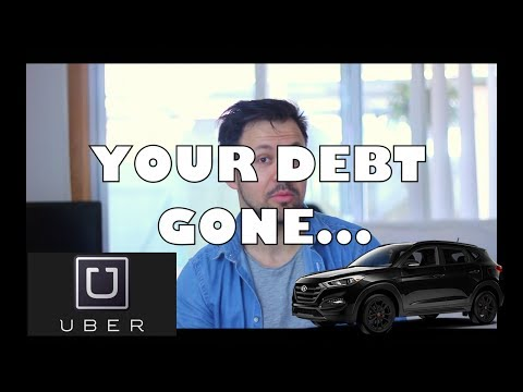 Driving with UBER Australia to get DEBT FREE