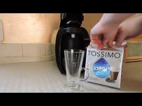 BOSCH TASSIMO - how to make OREO