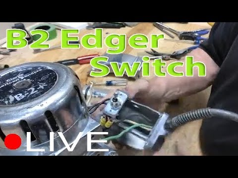 B2 Edger Hardwood Sander Switch Repair   City Floor Supply Machine Shop
