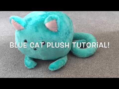 Blue Cat Plush Tutorial