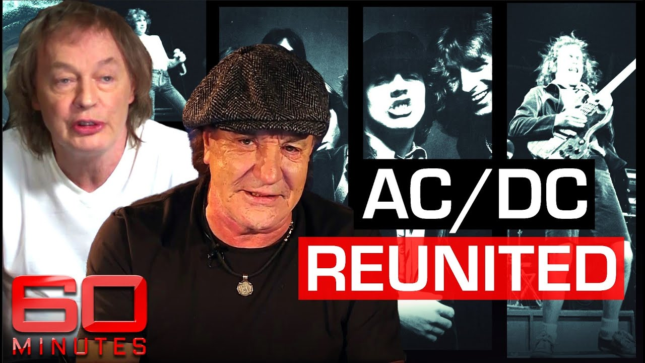 Rock legends AC/DC say new album is a tribute to the late Malcolm Young   60 Minutes Australia
