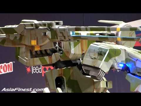 Metal Gear Solid Rex Cosplay Masquerade Costume Contest at New York Comic Con 2014