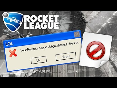 THE VIDEO WAS CORRUPTED! | Rocket League