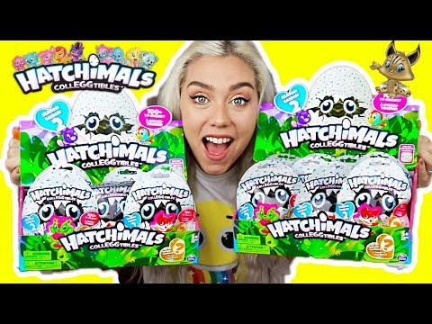 OPENING 18 HATCHIMALCollEGGtibles BLIND BAGS! SEARCH FOR THE GOLDEN HATCHIMAL!!! SUPER RARE FINDS