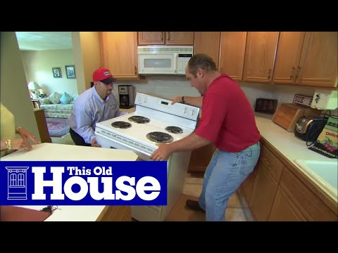 How to Install a Propane-Fueled Stove - This Old House