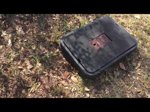How to find property lines with a bounty hunter metal detector