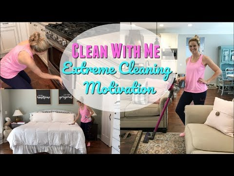 CLEAN WITH ME 2018 // ULTIMATE CLEAN WITH ME // ENTIRE HOUSE CLEAN