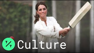 Prince William and Kate Middleton Play Cricket, Visit Mosque in Pakistan