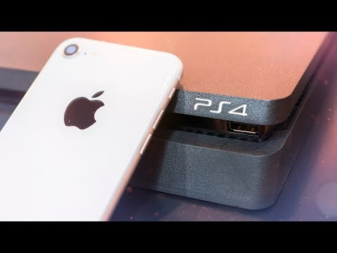 Can the iPhone 8 Match the PS4?