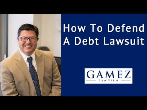 How To Defend A Debt Collection Lawsuit in California | Debt Lawsuit Defense Attorney