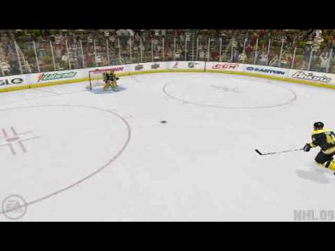 NHL 09 - OT game winning goal