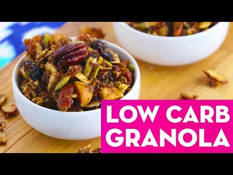 Granola 3 Ways: Healthy Low Carb, Savory & Traditional Recipes! - Mind Over Munch