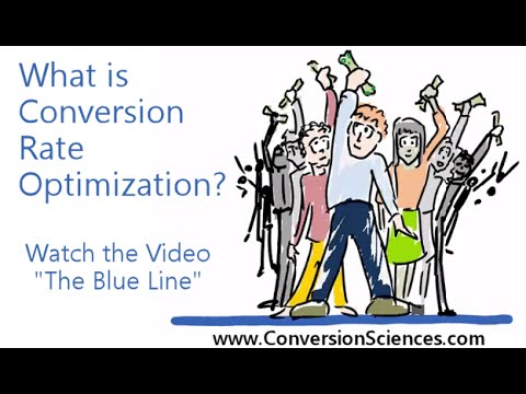 What is Website Optimization? The Blue Line