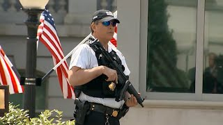Secret Service Shoots Man Carrying Gun Near White House