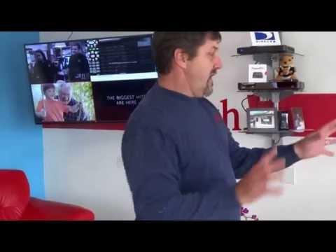 MultiView or Sports bar mode Hopper 3 DISH Network Demonstration