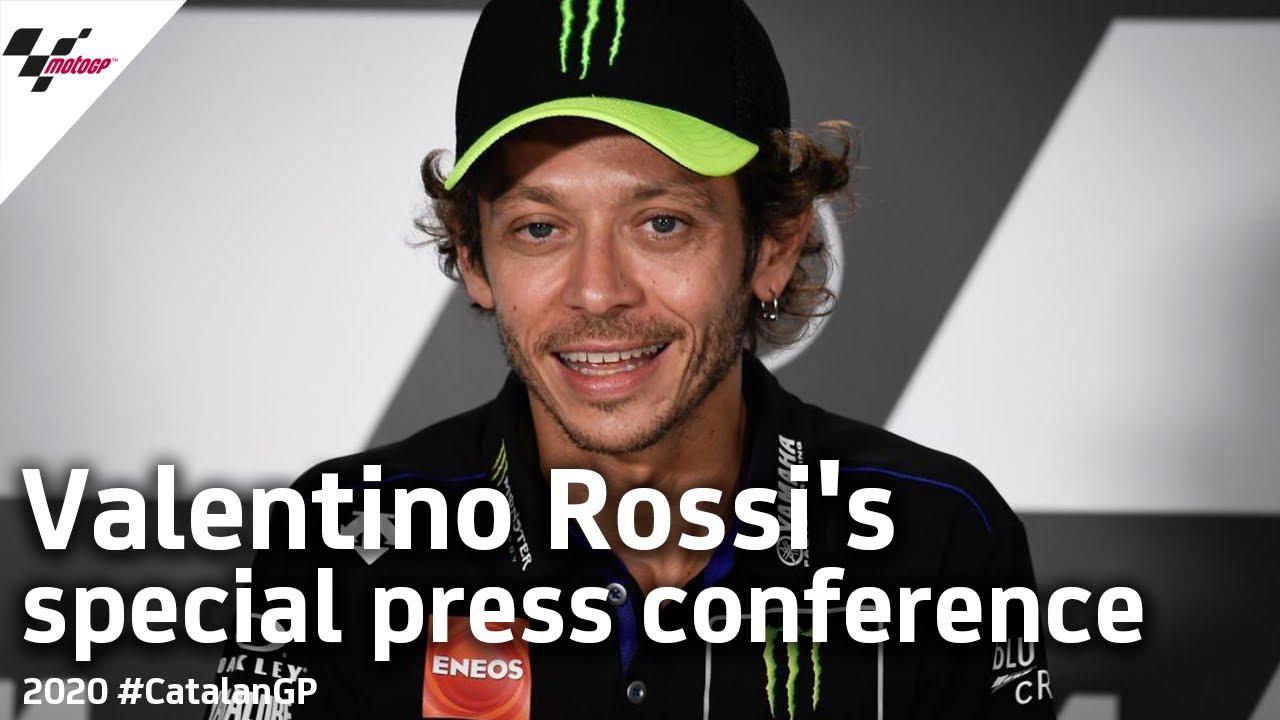 Valentino Rossi 2021 Announcement Press Conference   #CatalanGP