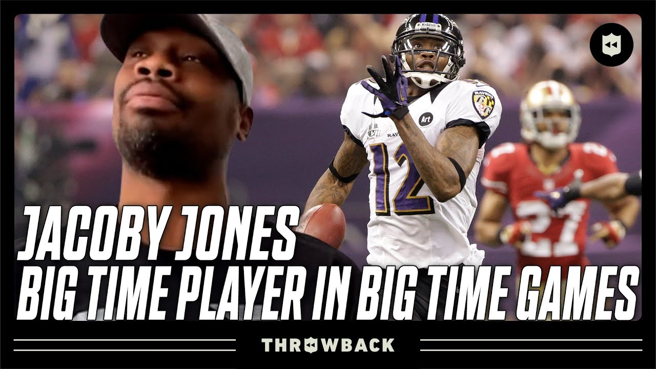 Jacoby Jones: The Clutch Big Play Machine! | Throwback Originals