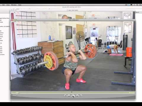 How To Power Clean (power clean tutorial)