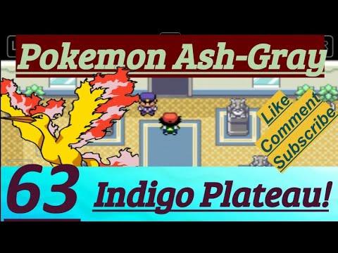 Pokemon Ash-Gray Part 63 Defeat Team Rocket, Helped Otoshi, Arrived Indigo Plateau & Moltres Torch