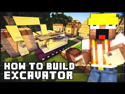 ► Minecraft : How to Make - Excavator