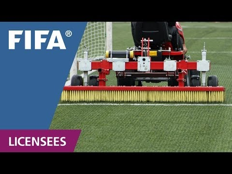 How to maintain a FIFA certified football turf pitch