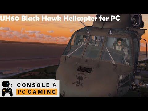 Flight Simulator X,  Cera Sim  UH-60 Black Hawk Helicopter