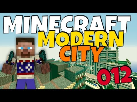 How to build a Modern City in Minecraft - Episode 12