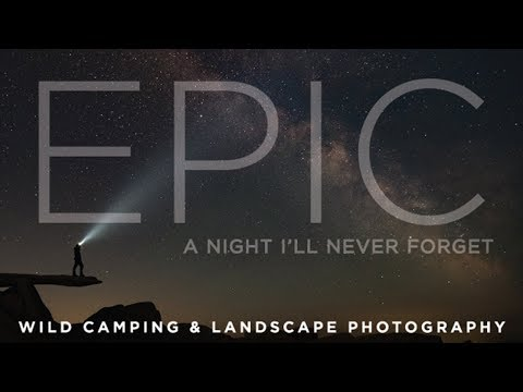 BEST CAMP EVER! Wild camping & landscape photography - Glyder Fach Snowdonia