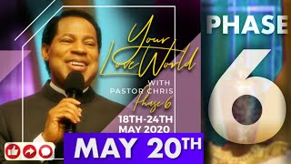 Pastor Chris LIVE:: Your LoveWorld PHASE 6 DAY 3