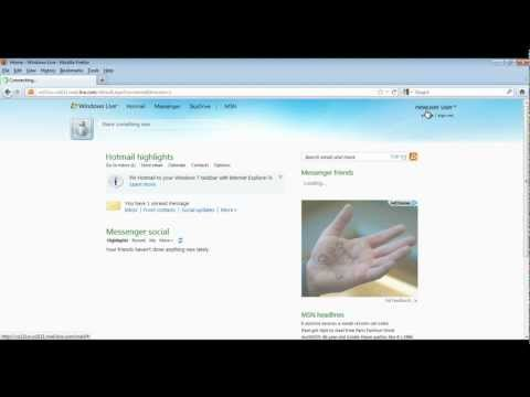 How to Create Windows Live Account