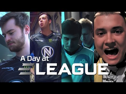 ELEAGUE 2016 Behind the Scenes with Cloud9, Navi and EnVyUs - HyperX