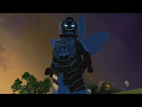 LEGO Batman 3 - Blue Beetle (Unlock Location + Free Roam Gameplay)